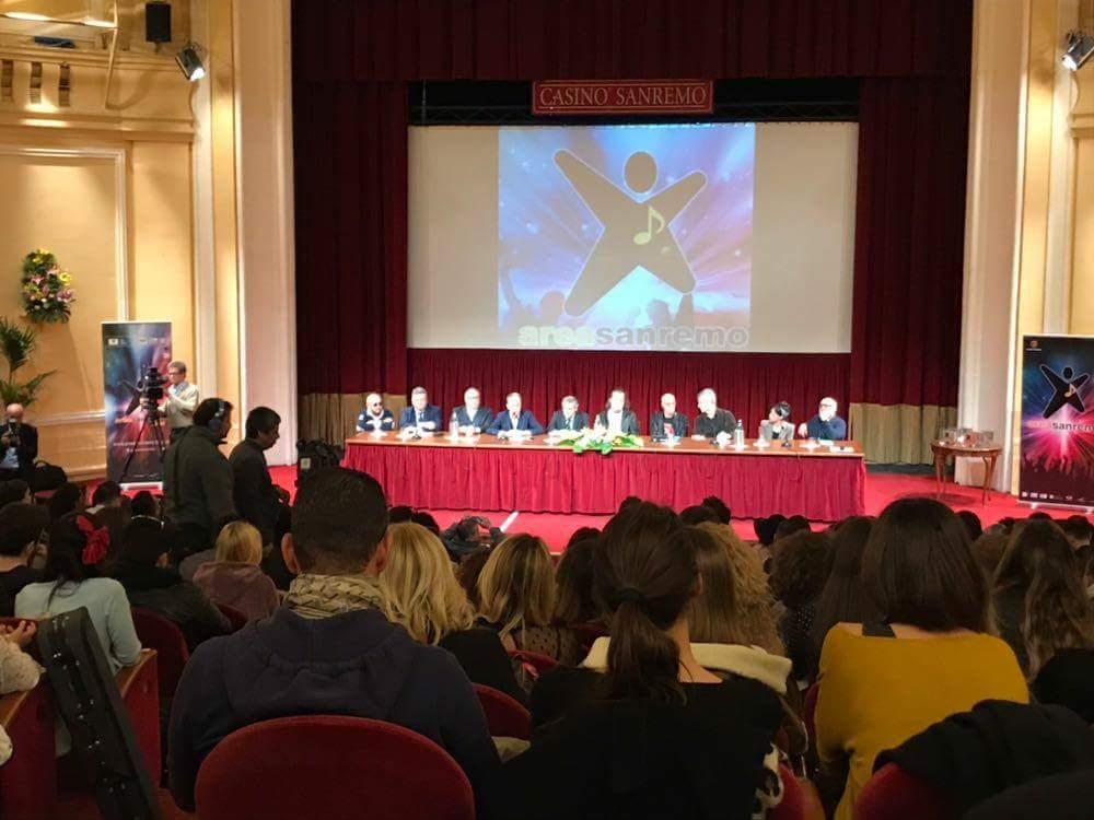 Annunciati oggi al Casinò gli 8 vincitori del concorso Area Sanremo