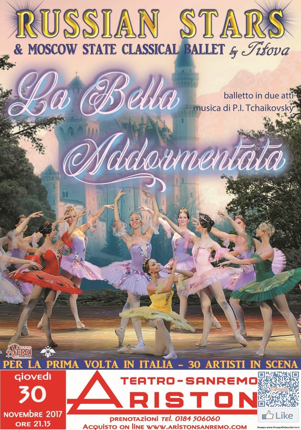 Appuntamento il 30 novembre al Teatro Ariston con il grande balletto