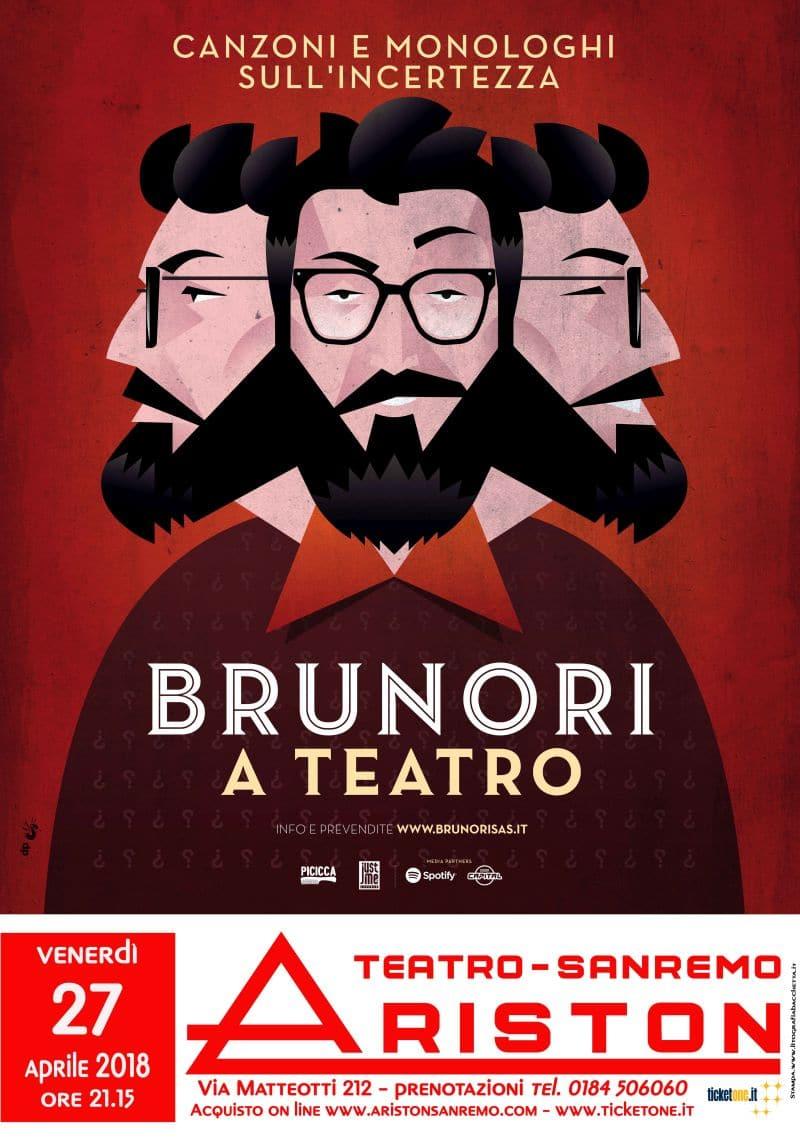 """Aperte le prevendite per """"Brunori a teatro"""", in programma al Teatro Ariston il 27 aprile"""