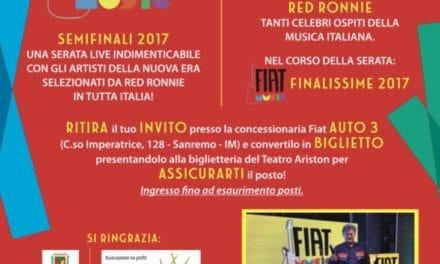 Red Ronnie porta la musica con il contest Fiat a Sanremo