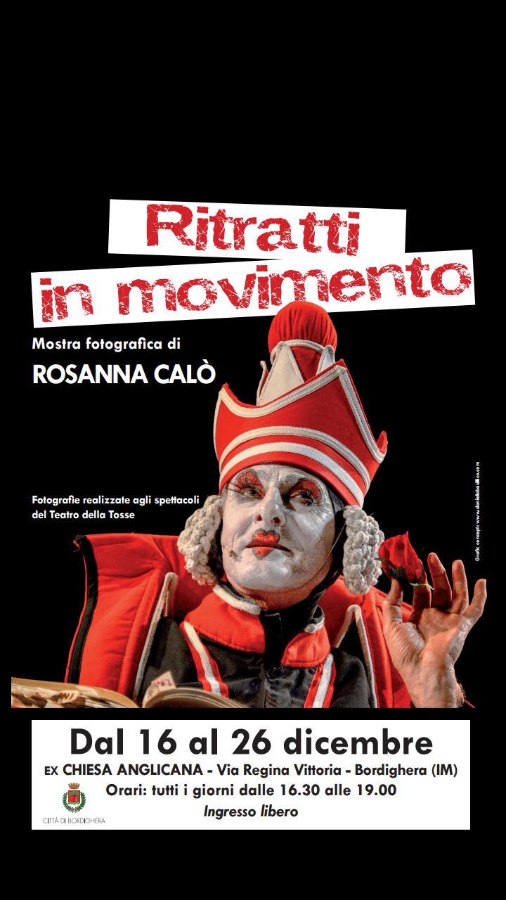 La mostra di Rosanna Calò con gli scatti fotografici che raccontano gli spettacoli del Teatro della Tosse