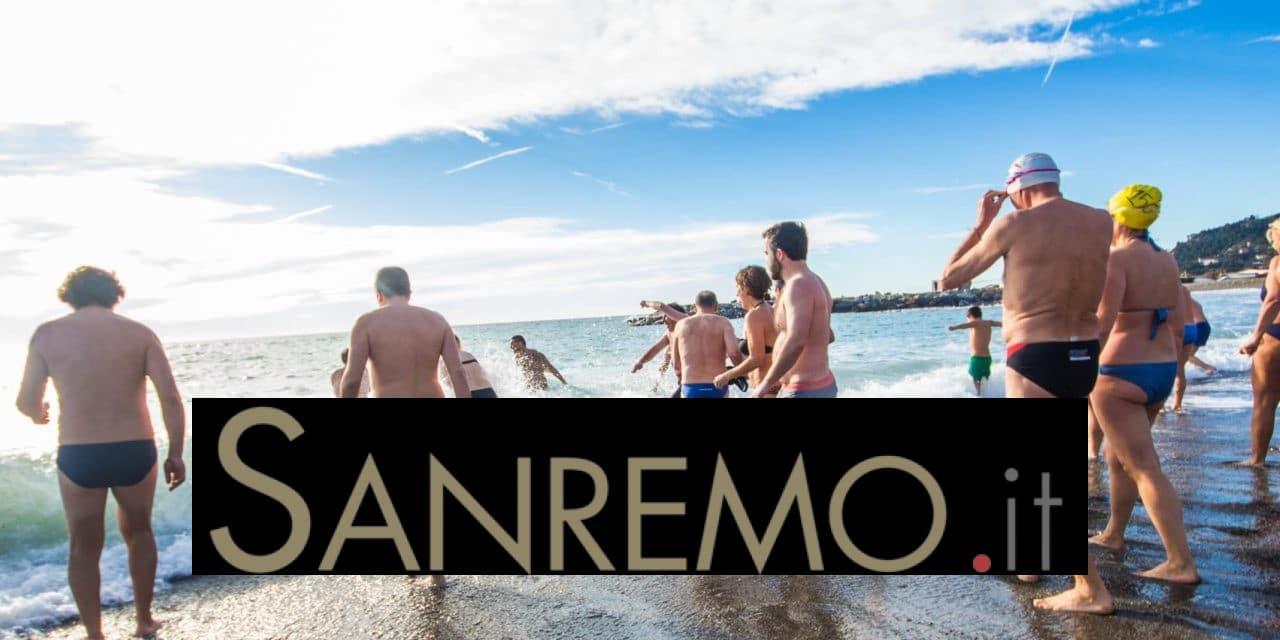 Cimento invernale: tutti i tuffi nel mare della Riviera