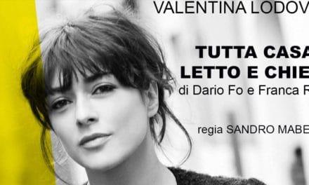 """Valentina Lodovini in """"Tutta Casa Letto e Chiesa"""""""