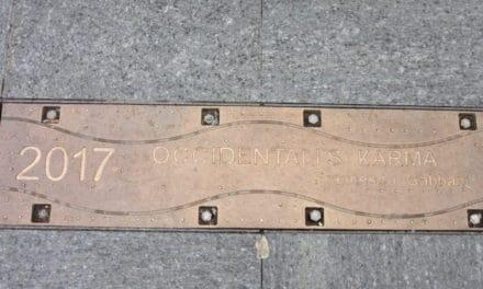 La storia del Festival di Sanremo attraverso le targhe dei vincitori in via Matteotti