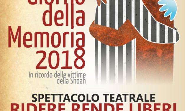 Ridere rende liberi: LIBER theatrum a Bordighera per il Giorno della memoria