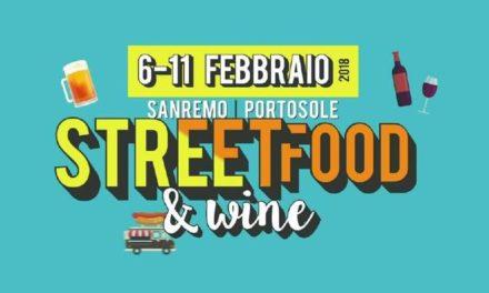 Il Sanremo Street Food & Wine Fest torna a Portosole dal 6 all'11 febbraio 2018