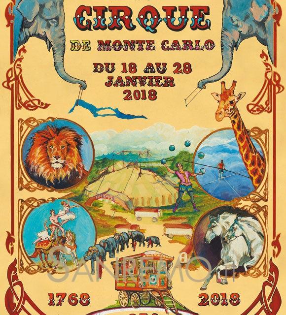 Su il sipario per il Festival del circo di Montecarlo