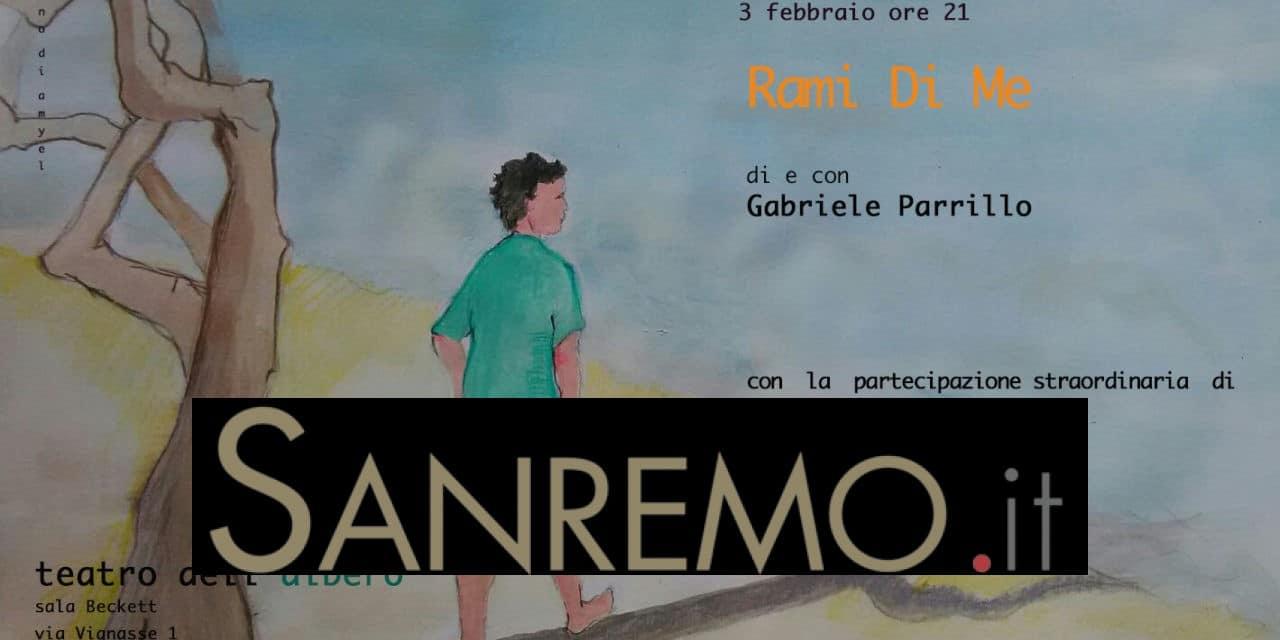 """""""Rami Di Me"""", lo spettacolo di Gabriele Parrillo in anteprima a San Lorenzo al Mare"""