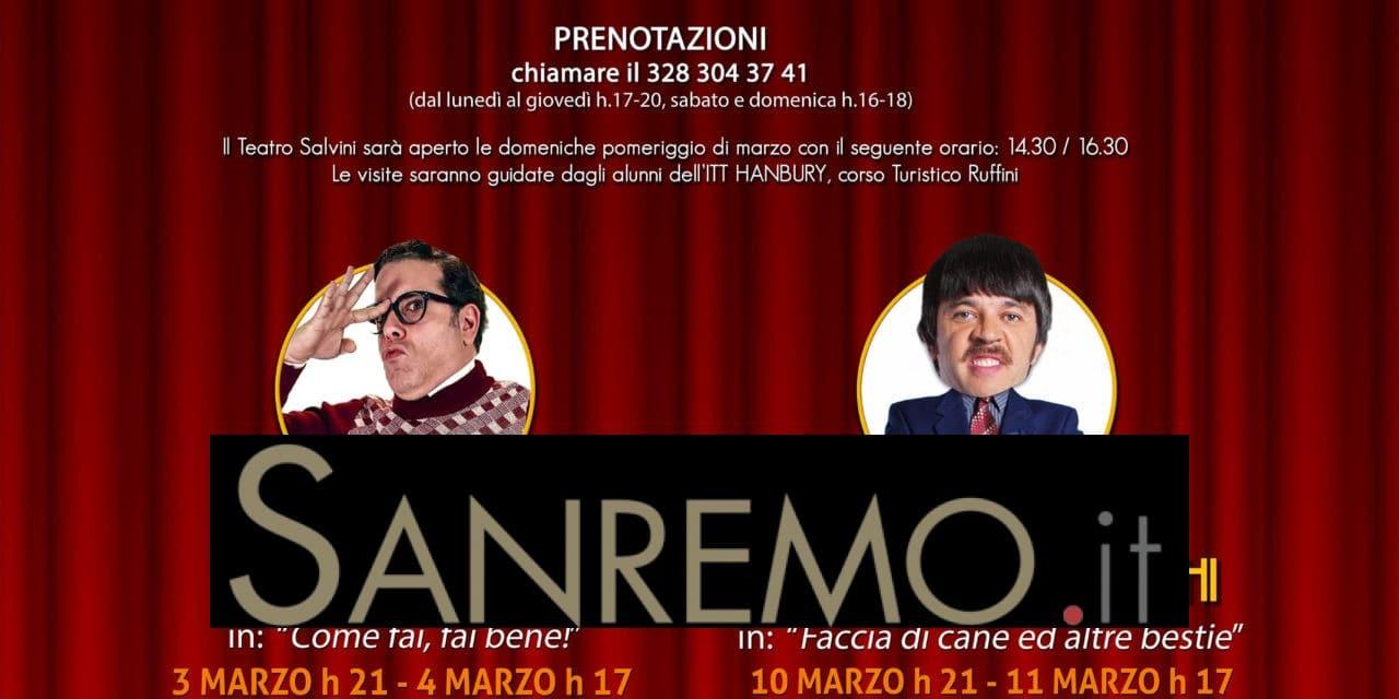 Ridere al Salvini: dal 3 marzo la rassegna comica a Pieve di Teco