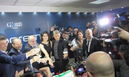 Festival di Sanremo 2018, Elisa Isoardi inaugura Casa Sanremo Vitality's al Palafiori