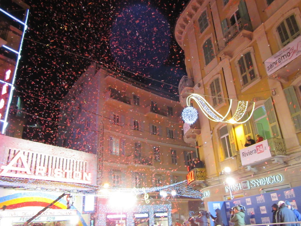 Sfilata sul tappeto rosso per i Big della 68esima edizione del Festival di Sanremo