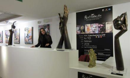 Le opere di Re d'Italia Art in mostra a Casa Sanremo Vitality's