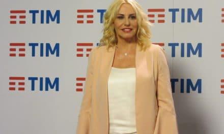 Antonella Clerici al 68° Festival di Sanremo per lanciare il teen talent SanremoYoung