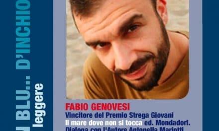 Fabio Genovesi a Cervo in blu d'inchiostro domenica 11 febbraio