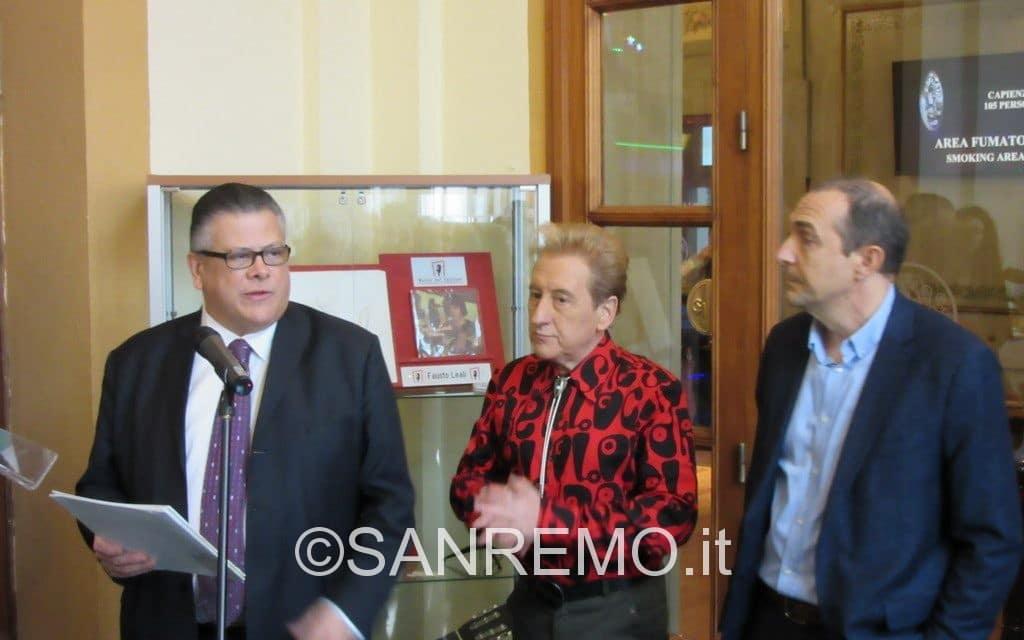 L'inaugurazione del Museo del Festival al Casinò di Sanremo