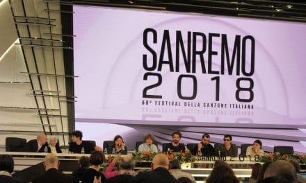 Festival di Sanremo 2018: Lo Stato Sociale e Paddy Jones, la vecchia che balla
