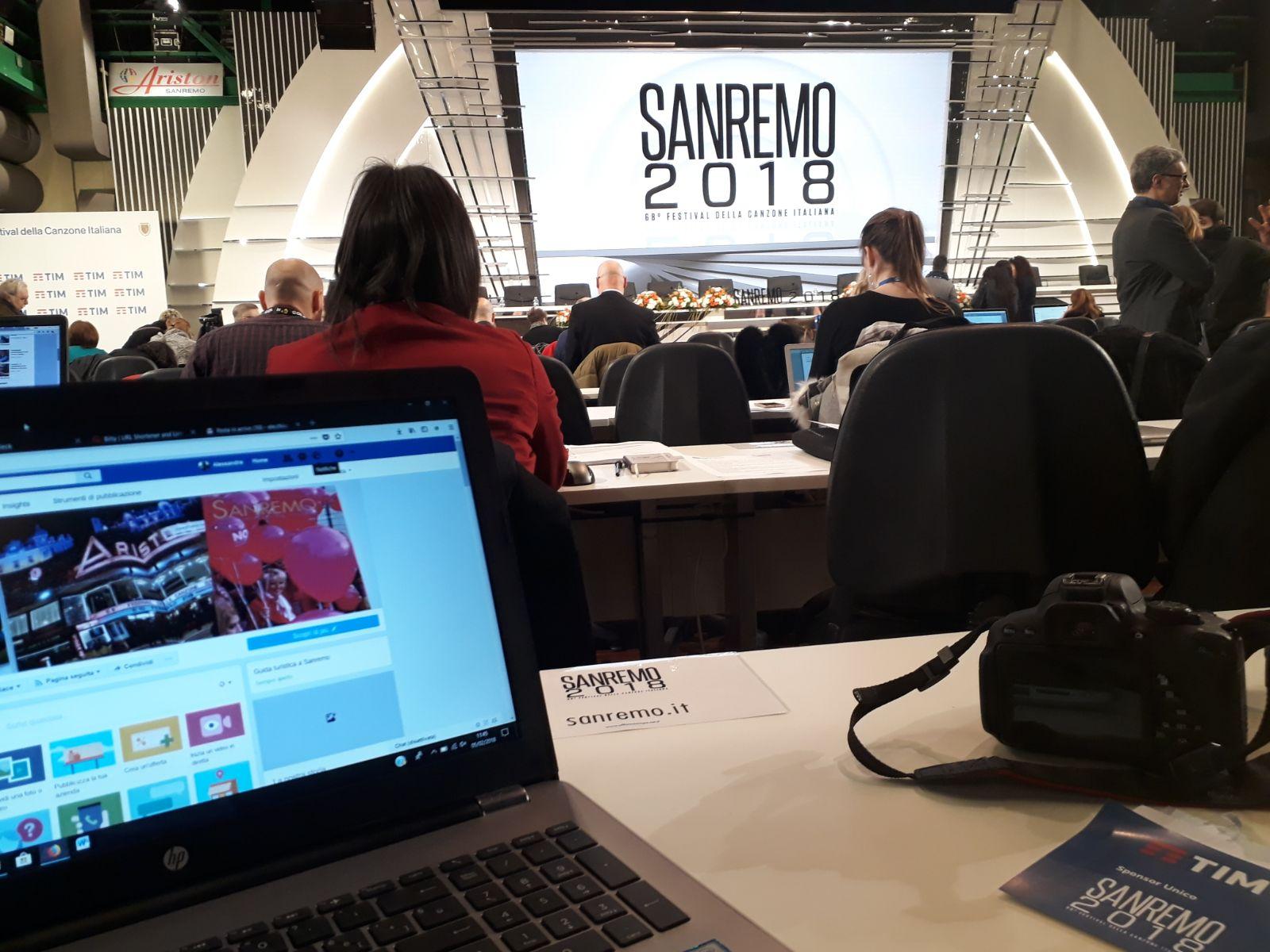 I numeri da record del nostro editore tra articoli, eventi seguiti e dirette streaming durante il 68esimo Festival di Sanremo