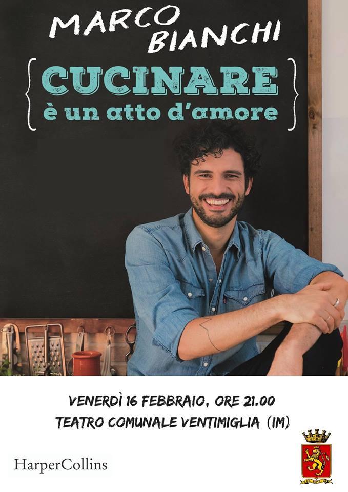 Il divulgatore scientifico Marco Bianchi al Teatro Comunale di Ventimiglia venerdì 16 febbraio