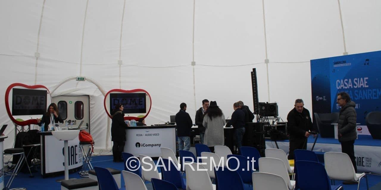 Gli appuntamenti di venerdì 9 febbraio a Casa SIAE – Area Sanremo