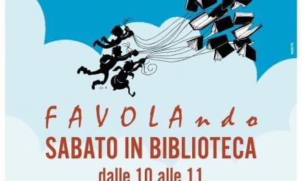 Favolando: il progetto di letture per i piccoli alla Biblioteca Lagorio di Imperia