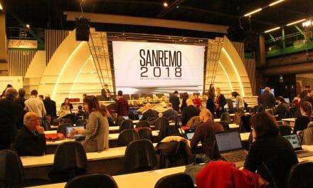 Sanremo 2018: la città dell'informazione e della stampa