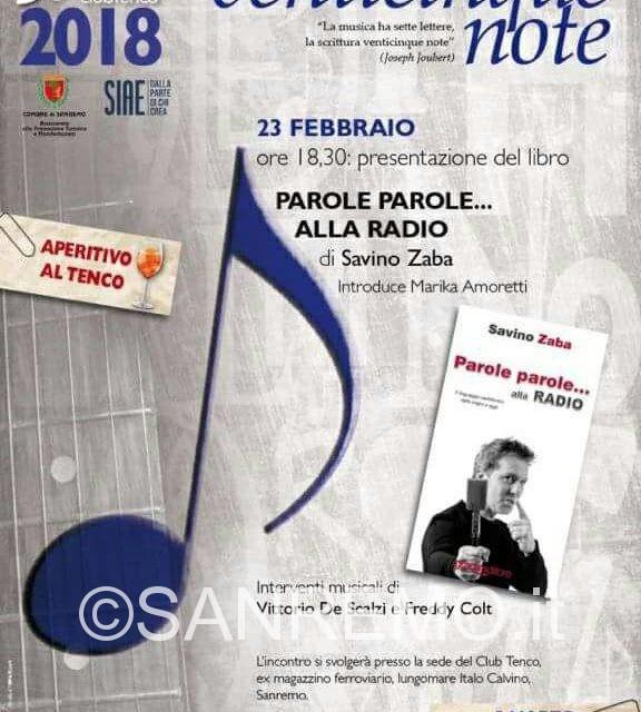 Savino Zaba e la radio, il 23 febbraio al Club Tenco