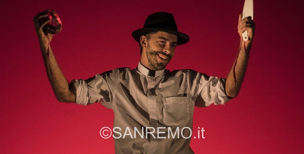 Michele Riondino oggi a Ventimiglia tra De André e Don Gallo