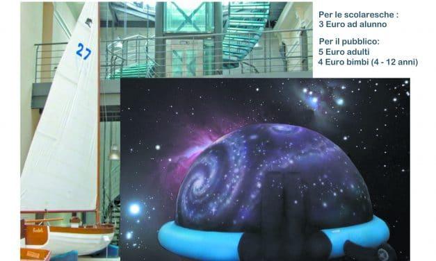 A Imperia alla scoperta del Planetario: da lunedì 12 a sabato 20 marzo