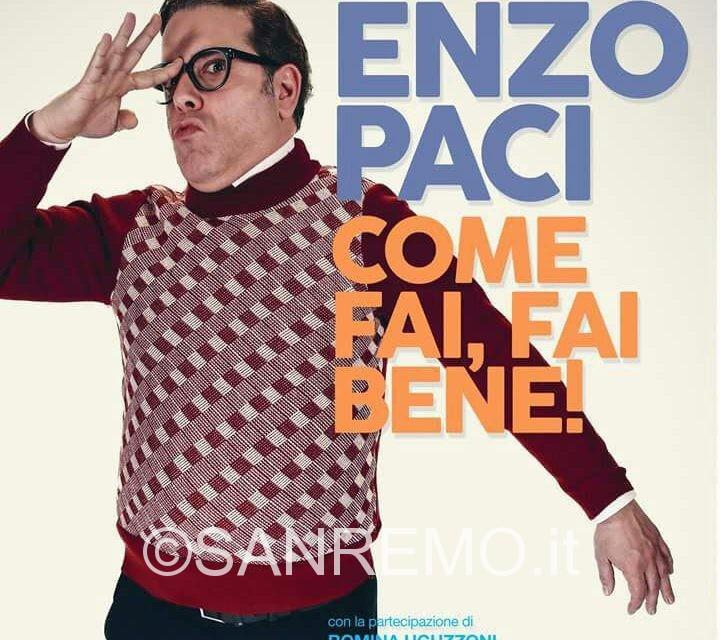 La comicità di Enzo Paci al Teatro Salvini di Pieve di Teco