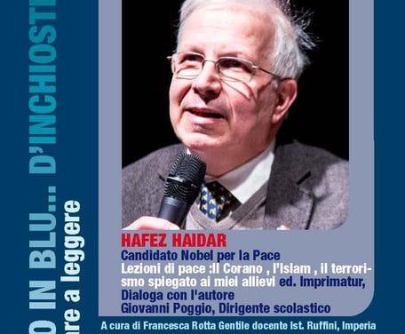 Hafez Haidar, il candidato Nobel per la pace a Cervo