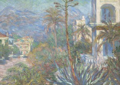 Les Villas à Bordighera, collezione groupe GAN, Paris, Musée d'Orsay - ©Wikipedia