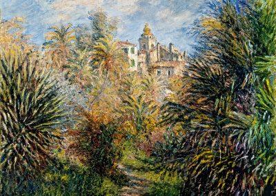 Jardin Moreno à Bordighera, 1884 - Norton Museum of Art, West Palm Beach, Florida ©Wikimedia